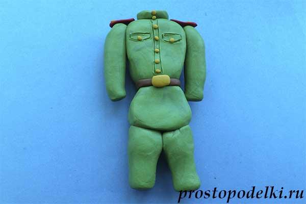 Солдат из пластилина-08