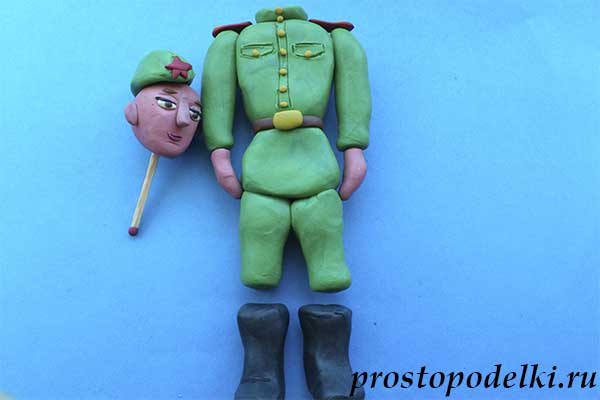 Солдат из пластилина-09