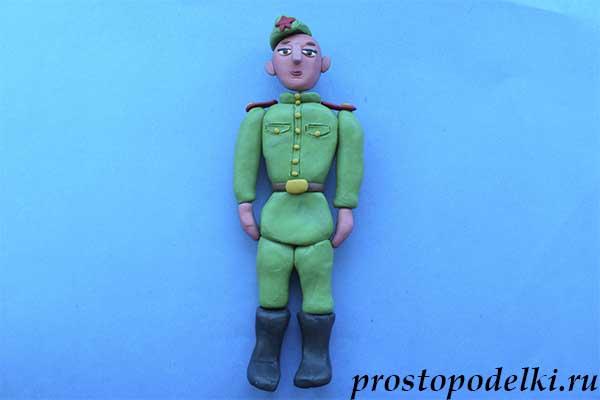 Солдат из пластилина-10