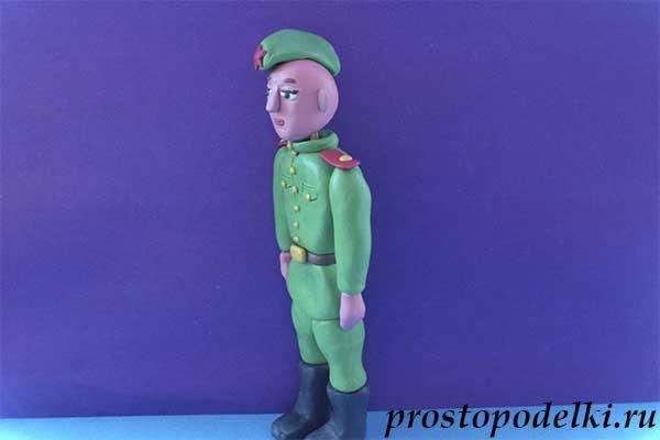 Солдат из пластилина-11