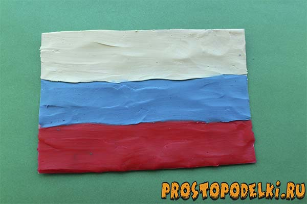 Поделки с детьми флаг россии