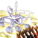 Как нарисовать луноход