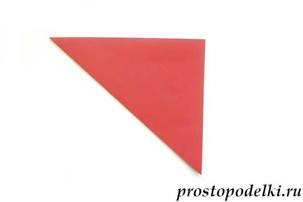 Ракета оригами-04