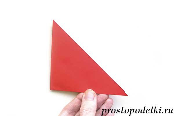 Ракета оригами-05