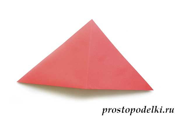 Ракета оригами-06