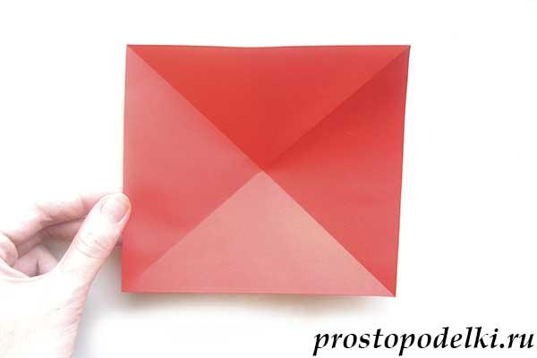 Ракета оригами-07