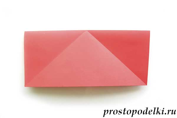 Ракета оригами-08