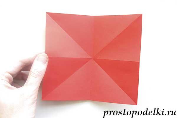 Ракета оригами-09