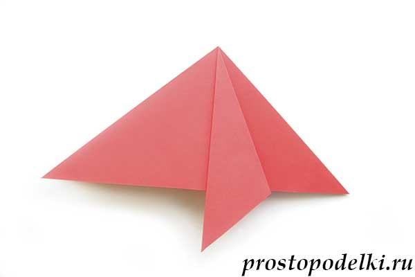 Ракета оригами-11
