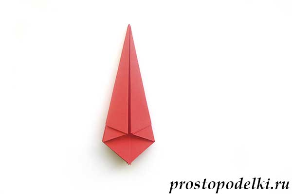 Ракета оригами-16