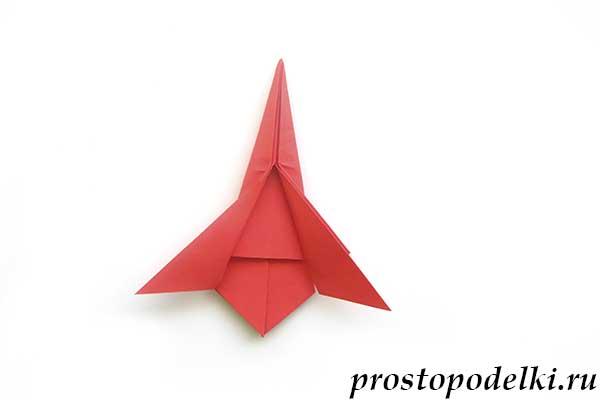 Ракета оригами-17