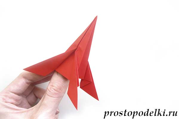 Ракета оригами-19