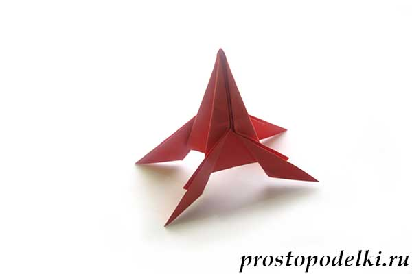Ракета оригами-21