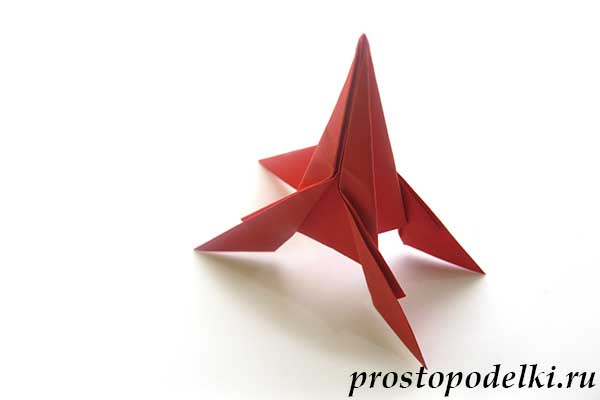 Ракета оригами-22