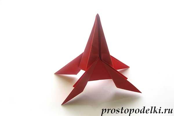 Ракета оригами-title