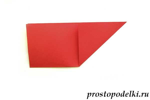 Объемная звезда оригами-03