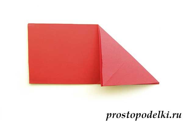 Объемная звезда оригами-04