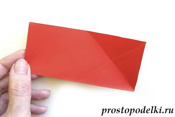 Объемная звезда оригами-05