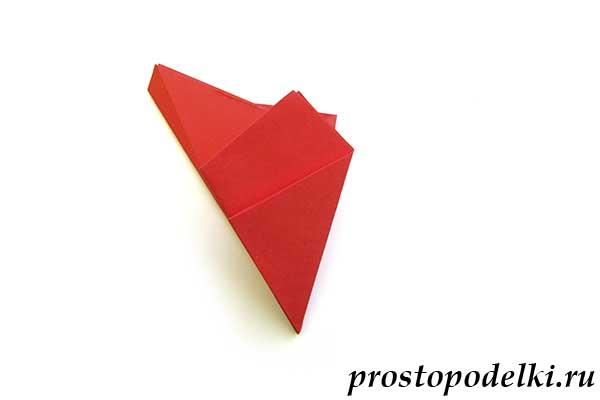 Объемная звезда оригами-10