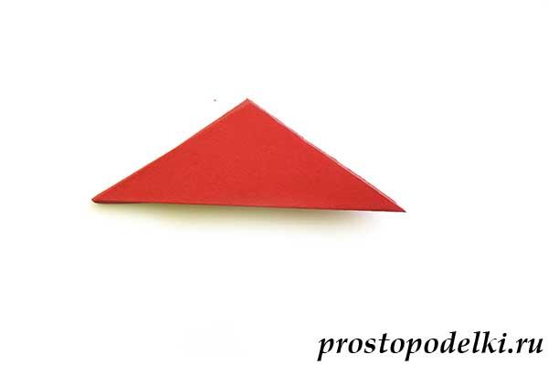 Объемная звезда оригами-13
