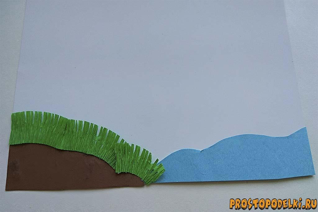 Поделка Круговорот воды-3