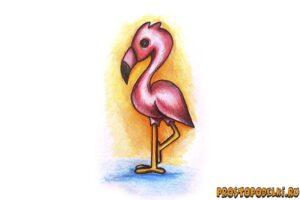 kak-narisovat-flamingo-title-300x200 Как рисовать животных: крокодилы, аллигаторы, кайманы и гавиалы
